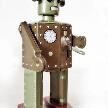 Robot uit de jaren '50, copyright foto: Oliver Brandt